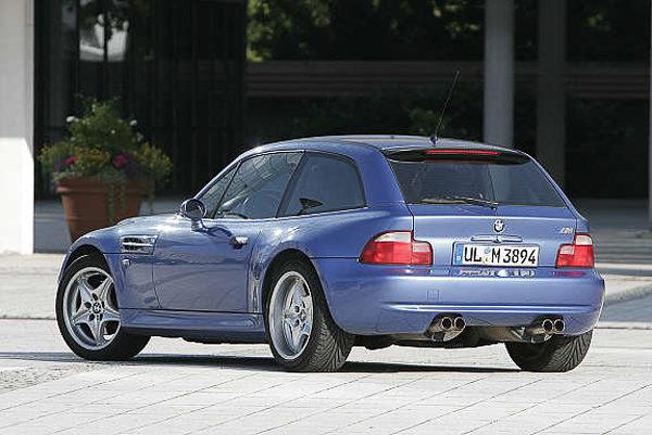 """M Coupé, privatbilen det året jeg bodde i Tyskland. Eller """"Turnschuh"""" (gymsko), som den fikk som kjælenavn. Uansett: En M-modell av den gamle skolen - og den gang et perfekt valg som transportmiddel ..."""