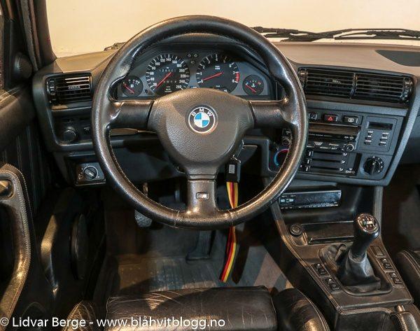 BMW E30 M3 interiør