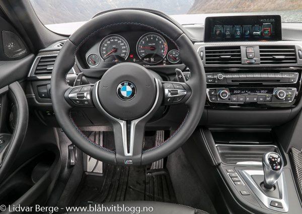 BMW M3 30 Jahre Edition interiør