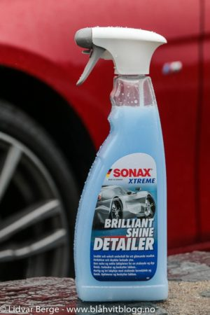 BMW 320d xDrive Sonax Brillant Shine Detailer