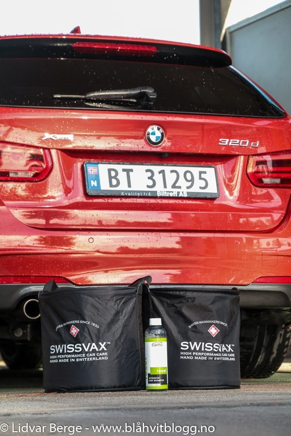 BMW 320d xDrive Svisswax