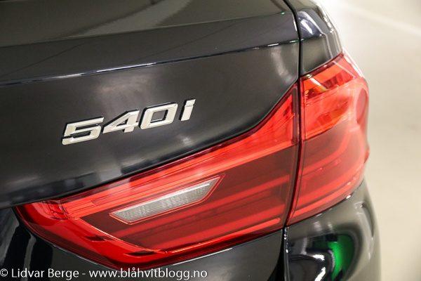 BMW 540i G31 emblem
