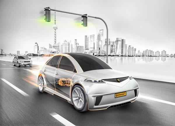 Autonom bil selvkjørende Continental