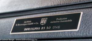 BMW Alpina B3 3,0