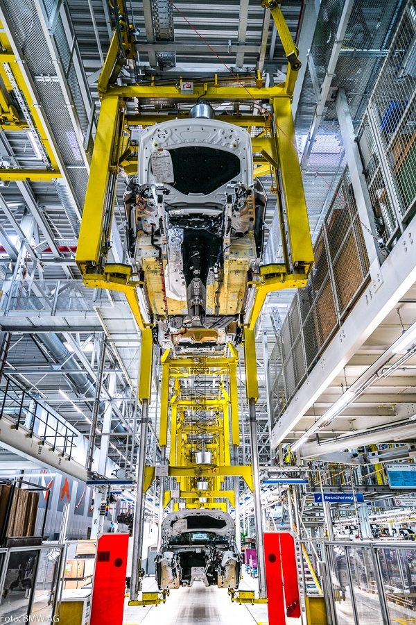 BMW Dingolfing produksjon