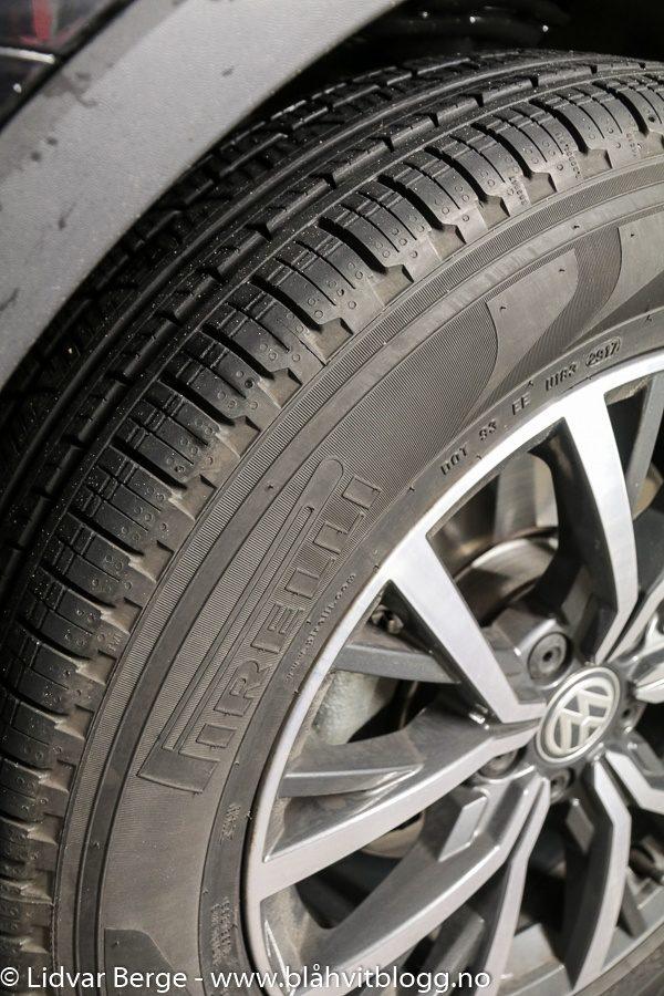 Avis VW Tiguan Pirelli