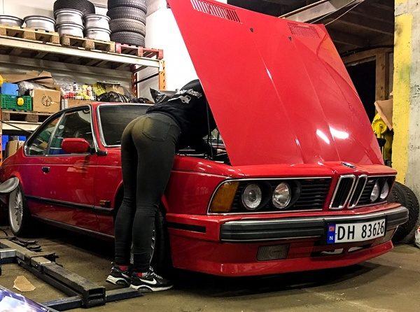 BMW 635CSi Amanda Pettersen