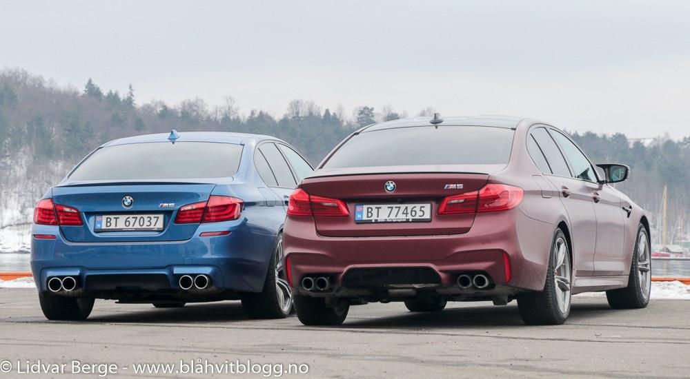 BMW F90 M5 F10 M5