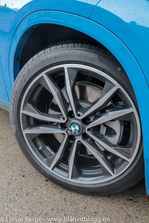 BMW X2 Pirelli P7