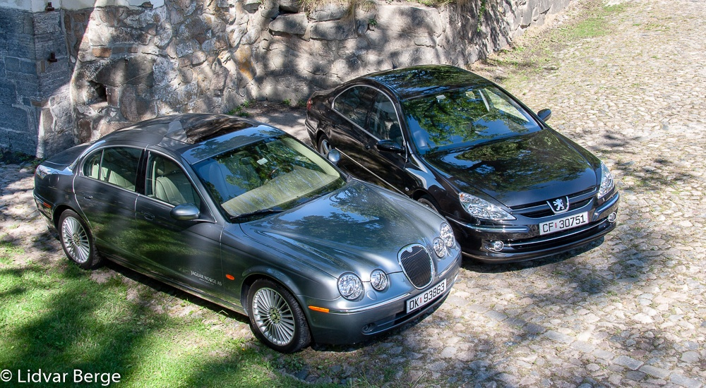 Jaguar S-Type og Peugeot 607