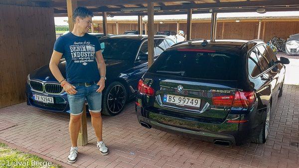 Johan Foldøy BMW M550d F11