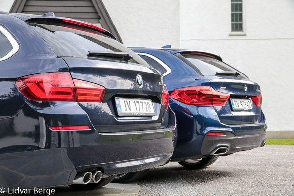 BMW 530d G31 og F11
